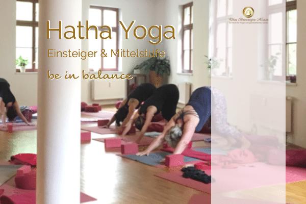 Hatha Yoga *Einsteiger / Mittelstufe* - Das Bewegte Haus Halle