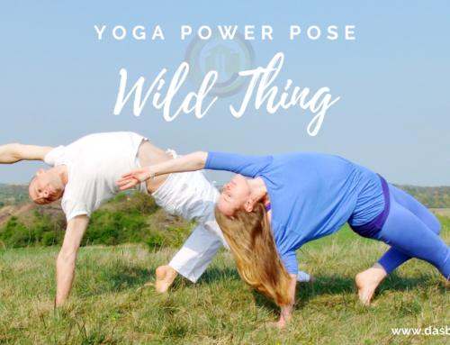 Yoga Power Pose im Mai – Wild Thing
