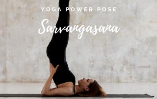Yoga Power Pose im Juli - Salamba Sarvangasana - Das Bewegte Haus Halle