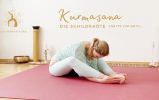Kurmasana - die Schildkröte - Das Bewegte Haus Halle