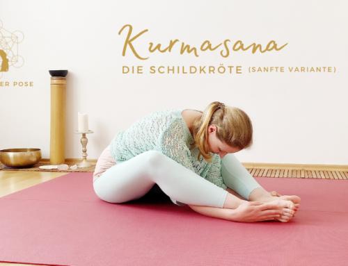 Kurmasana – die Schildkröte